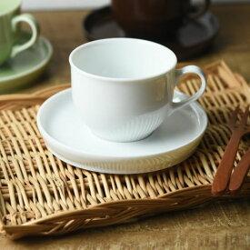 LATTE カップ&ソーサー ミルクホワイト