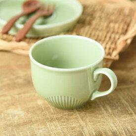LATTE コーヒーカップ 抹茶グリーン