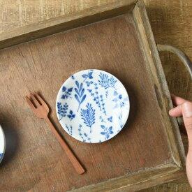 オーガニックガーデン 10cm豆皿 ハーブ