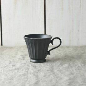 シュシュ・グレース コーヒーカップ クリスタルブラック