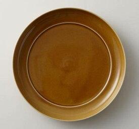 深山(miyama.) 瑞々 丸皿8寸 うす飴(24cm)