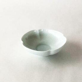 深山(miyama.) 瑞々 木瓜鉢 3.5寸 青白(10.5cm)