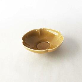深山(miyama.) 瑞々 木瓜鉢 3.5寸 うす飴(10.5cm)