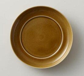 深山(miyama.) 瑞々 まる皿 4寸 うす飴(12cm)