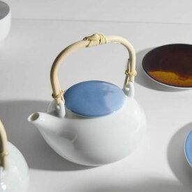深山(miyama.) casane te-かさね茶器- 土瓶 淡呉須[茶こしは付属していません]