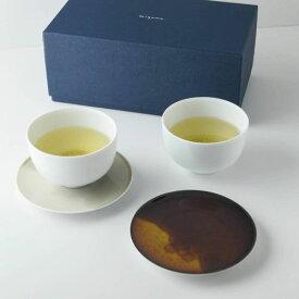 【箱入り】深山(miyama.) casane te-かさね茶器- 組煎茶碗