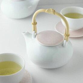 深山(miyama.) casane te-かさね茶器- 土瓶 桜柄・桃釉[茶こしは付属していません]
