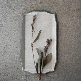 寿山窯 rim リム レクタングル M(29x16cm) ホワイトアッシュ