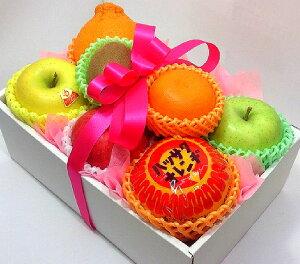 [ご進物用/秀品] 果物詰め合わせギフト(ハッサク、りんご、キウイなど)【のし対応】[御中元、お中元、お盆、プレゼント、誕生日、ギフト、贈り物、お祝い、内祝い、出産祝い、お供え