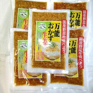 宮崎県産 万能おかず生姜 5袋