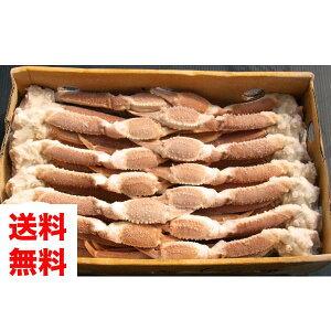 【送料無料★かにすきのだし付き】かにすき用ズワイガニ。業務用5kg(7匹)[冷凍][ずわい蟹][4L5kgだし2本]