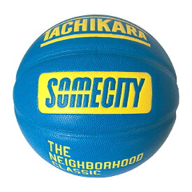 TACHIKARA SU19 BASKETBALL SOMECITY OFFICIAL GAME BALL SB7-108 Blue / Yellow タチカラ バスケットボール 7号 サムシティ
