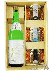 醴泉 ( れいせん ) 純米大吟醸 720ml + 鮎のおつまみ3種セット【 5988 】【 日本酒・おつまみセット 】【 送料無料 】【 敬老の日 贈り物 ギフト プレゼント 】