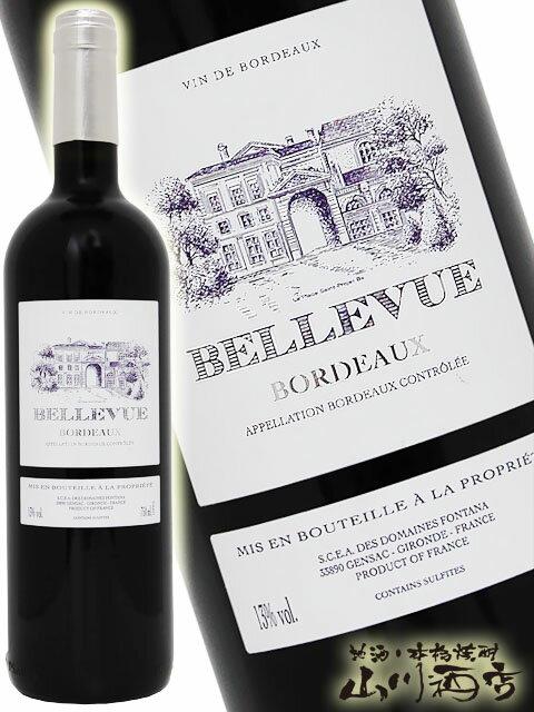 【フランス 赤ワイン】シャトー・ベルヴュー 750ml / シャトー・ベルヴュー【4266】【母の日】