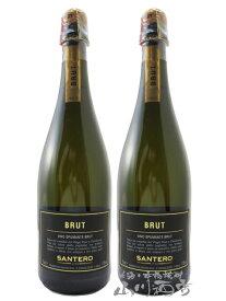 【 イタリア スパークリングワイン 】 サンテロ ブラック ブリュット 2本セット 750ml / サンテロ 【 4844 】【 贈り物 ギフト プレゼント 敬老の日 】
