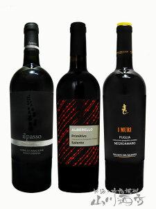 【 送料無料 】【 イタリア 赤ワイン 】 厳選イタリア赤ワインセット ( 750ml×3本 )【5234】【 贈り物 ギフト プレゼント 】
