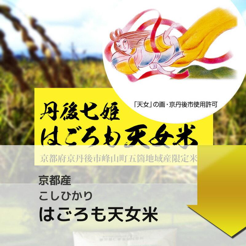 新米 29年産 京都丹後産コシヒカリ はごろも天女米 白米5kg 【送料無料】 02P23Apr16