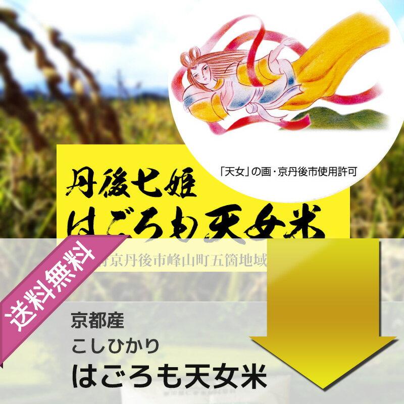 新米 29年産 京都丹後産コシヒカリ はごろも天女米 白米10kg 送料無料(5kg×2袋)02P23Apr16