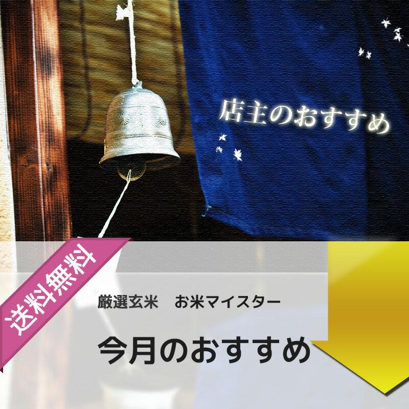 新米 【30年産】滋賀県産 キヌヒカリ 玄米5kg【精米無料】