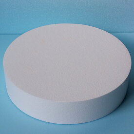 発泡スチロール円柱 直径500mm×厚さ50mm 4枚 普通硬さ
