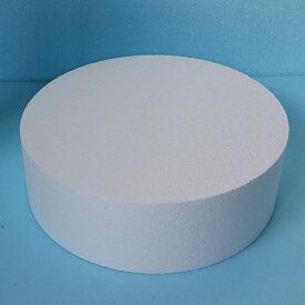 発泡スチロール円柱 直径600mm×長さ500mm 1個 普通硬さ
