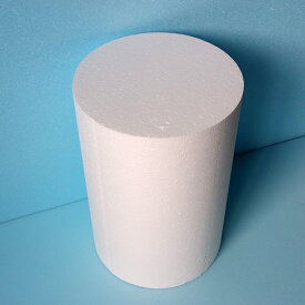発泡スチロール円柱 直径175mm×長さ1000mm 1個 普通硬さ