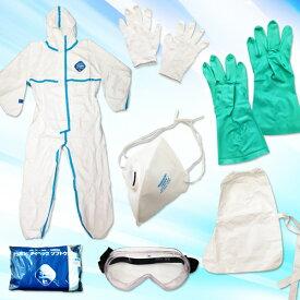タイベック2型 防護服・感染症防護対策キットICY-35-2型(青い線はありません )