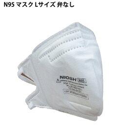 (送料無料)驚異の6層マスク・N95マスク10枚入り 弁なし Lサイズ 原田産業発売元 pm2.5対応!感染予防、大気汚染、ウイルス対策に