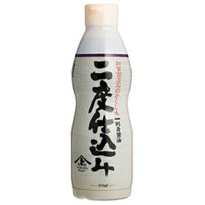 ヤマト醤油味噌 刺身醤油 二度仕込み 450ml デラミボトル