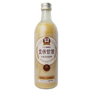 YAMATO玄米甘酒490mlあまざけ国産原料ノンアルコール玄米と米糀の糀飲料保存料不使用発酵飲料【金沢大野で創業100年を超える老舗の技】