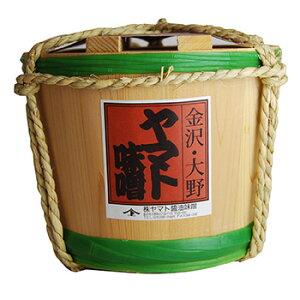 味噌(みそ) 国産原料使用 蔵出し 生(なま)こうじ(糀)味噌 2kg 木樽