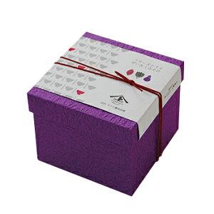 FDぜいたく味噌汁6食入り 加賀五彩の小箱<古代紫>(なす2食・ほうれん草2食・とん汁2食)