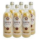 甘酒(あまざけ) 国産 YAMATO玄米甘酒 490ml 6本セット砂糖不使用【創業100年を超える老舗の技】