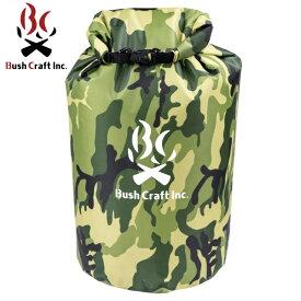 【BushCraft ブッシュクラフト】ドライバッグ30L カモフラージュ 4573350728888 アウトドア キャンプ 防水