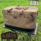 albatre マルチギアコンテナ Mサイズ 約48L MULTIGEAR CONTAINER ソフトコンテナ キャリーバッグ 折りたたみ アウトドア キャンプ フィッシング アルバートル AL-OB101野営 釣り