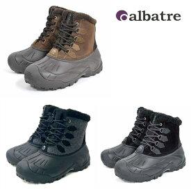 【冬物処分ポイント5倍】アウトドアブーツ〔24〜28.5〕スノーブーツ 防寒ブーツ ALBATRE AL-WP1620 3色 釣り 作業靴にも 最高の防寒靴 スノーシューズ 雪 ユニセックス