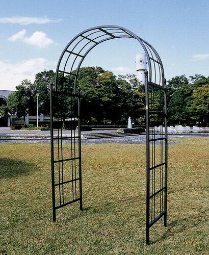 ガーデンアーチ E型 ロートアイアン 組立式 ゲート アーチ 送料無料