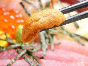 海鮮丼に美味しい!ウニ100gパック入り