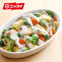 【ニッスイ】【数量限定】【訳あり】 ごろっと洋風野菜ミックス 500g[洋風野菜 野菜ミックス ブロッコリー じゃが…