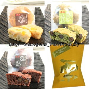 創業慶応二年代々受継いだ味と技を生かした和風ケーキ【焼き菓子3種】