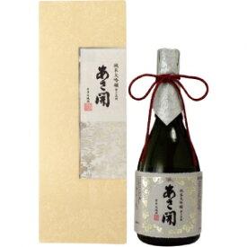 【5,000円以上送料無料】あさ開 磨き五割 純米大吟醸 720ml