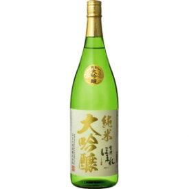 【5,000円以上送料無料】会津ほまれ 純米大吟醸 極 1800ml