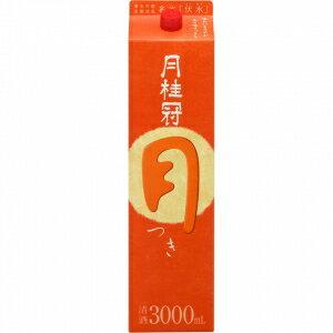 【5,000円以上送料無料】【ケース品】月桂冠 月 3000ml 4本入り
