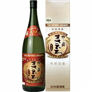 【送料無料】【ギフト品】【代引不可】比嘉酒造 古酒まさひろ 43度 1800ml