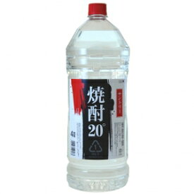 【5,000円以上送料無料】【ケース品】サントリー 純水仕上げ 20度 4000ml 4本入り