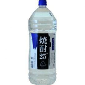 【5,000円以上送料無料】【ケース品】サントリー 純水仕上げ 25度 4000ml 4本入り