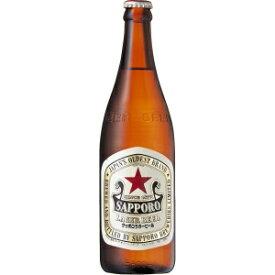 【5,000円以上送料無料】【ケース品】サッポロ ラガービール 中びん 500ml 20本入り