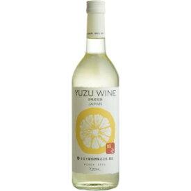 【5,000円以上送料無料】【ケース品】まるき葡萄酒 ゆずワイン 720ml 12本入り