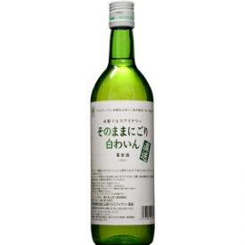 【5,000円以上送料無料】【ケース品】マルス ワイナリー直送の無添加甘口白ワイン 720ml 12本入り