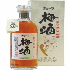 【送料無料】【ギフト品】【代引不可】チョーヤ 限定熟成梅酒 720ml 17度